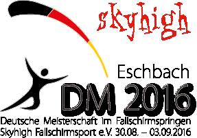 Deutsche Meisterschaft im Fallschirmspringen 2016 bei skyhigh e.V. in Eschbach