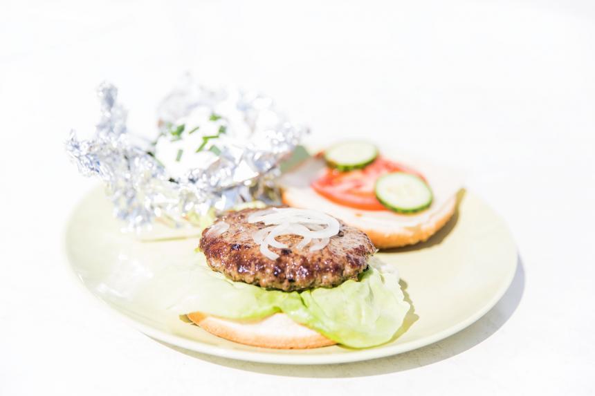 Heute: Burger!