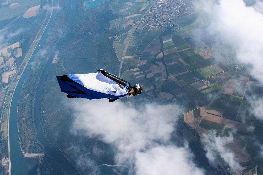 Wingsuit Performance —Erste Ergebnisse